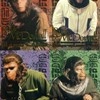 This is a set of inserts from PLANET OF THE APES ARCHIVES (Inkworks/1999). Inserts from this RODDY MCDOWALL series were randomly inserted into packs at a rate of 1:24 packs. Set consists of 4 cards - 2 of Cornelius, 1 of Caesar and 1 of Galen