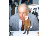 Booth Colman (Zaius on the television series) - StarCon '96