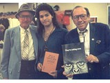 Booth Colman, author Eric Greene and casting director Marvin Paige - book signings in '96