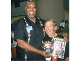 "Don Pedro Colley (""Beneath"") and Buck Kartalian (famous coined phrase: ""human see, human do"") - StarCon '97"