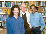 Eric Greene, tv director Arnold Laven and Austin Stoker - book signings in '96